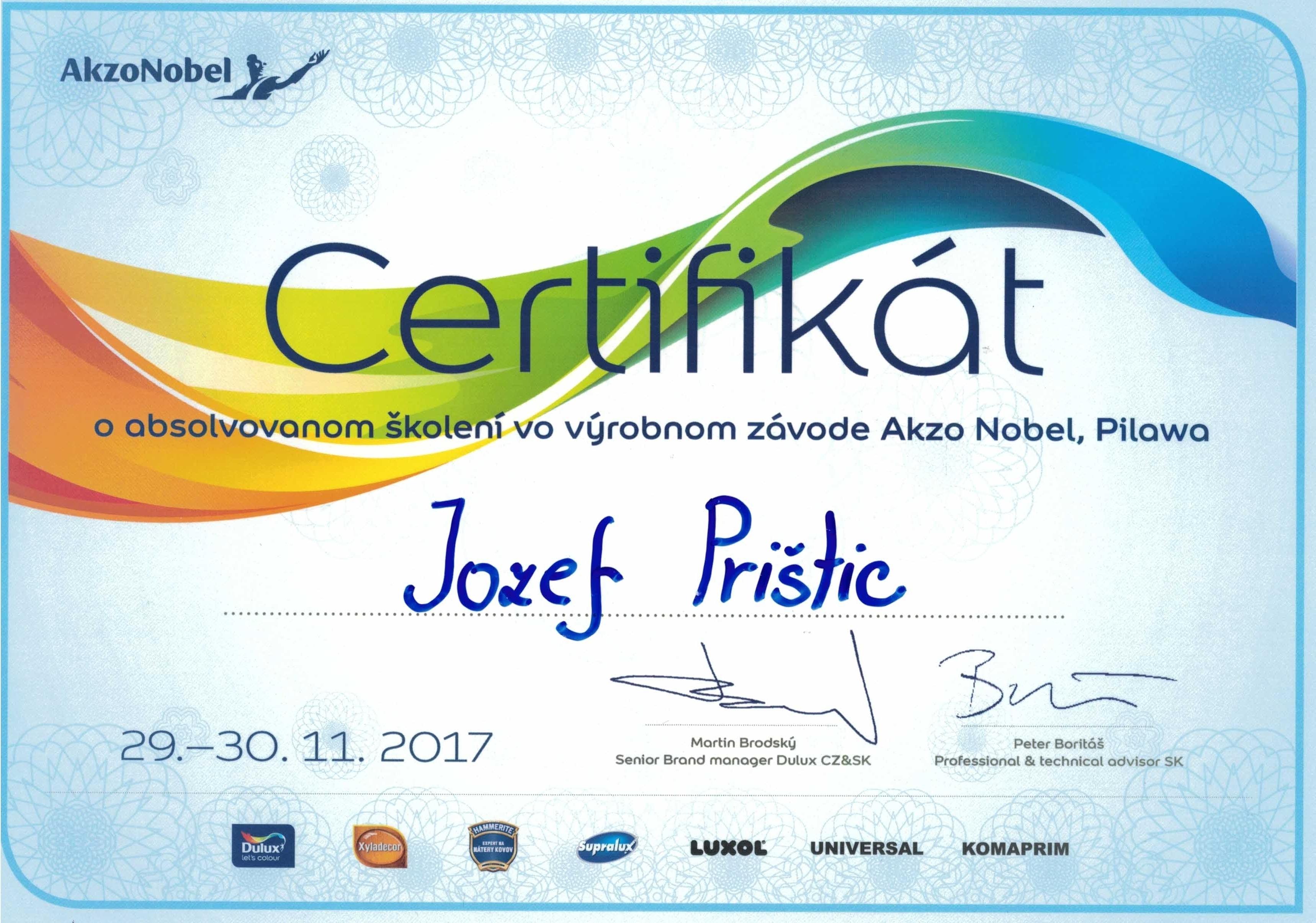 DULUX J. Prištic 2017